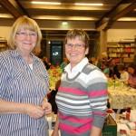 Dorita Reddemann (links) und Ingrid Marten haben sich wieder viel einfallen lassen