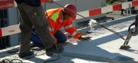 Straßeninstandsetzungsarbeiten in Wismar