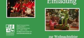 Einladung zur Weihnachtsfeier für Kinder in Grevesmühlen