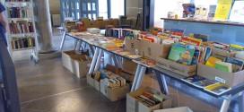 Buchverkauf in der Stadtbibliothek Wismar