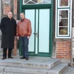 v.l.n.r MdB Dietrich Monstadt im Gespräch mit Bürgermeister Lutz Götze
